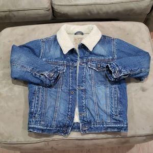 Old Navy lined denim jacket
